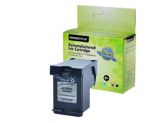 6PK Compatible with HP 61 XL 61XL Black Ink Cartridge ENVY 4500 5530 5535 CH563W