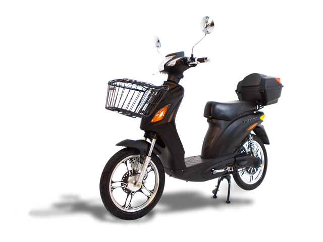Fast Electric Scooter >> Electric Scooter Bike Superfly Fast Affordable Black 600 Watts