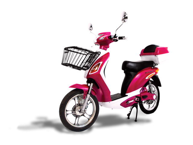 3c8f92004142 Electric Scooter Bike SUPERFLY Fast & Affordable Hot Pink 600 Watts 48V  Lead Acid Battery 2018 from AmericanElectric