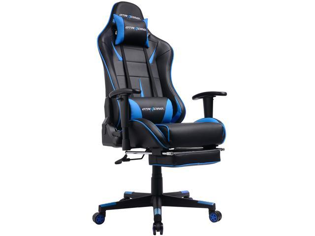 Gtracing Gaming Chair Ergonomic Office With Footrest Heavy Duty E Sports For Pro