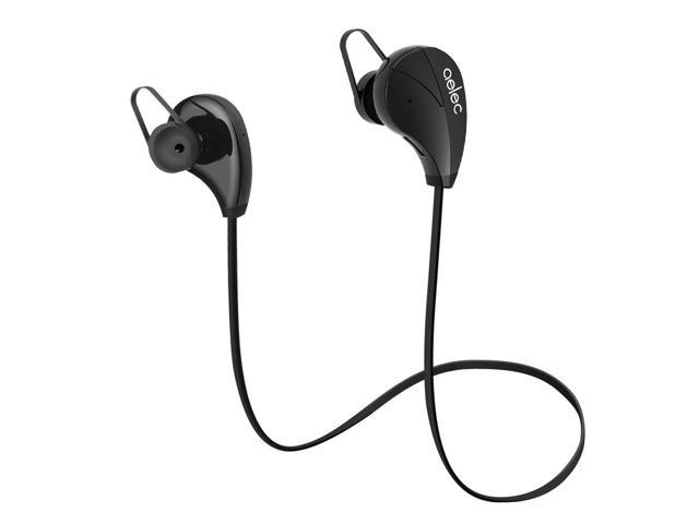 24b97c024ac aelec S350US-05-black AELEC S350 Wireless Bluetooth Headphones In-Ear  Sports Earbuds Sweatproof Earphones Noise Cancelling Headsets with Mic for  Running ...