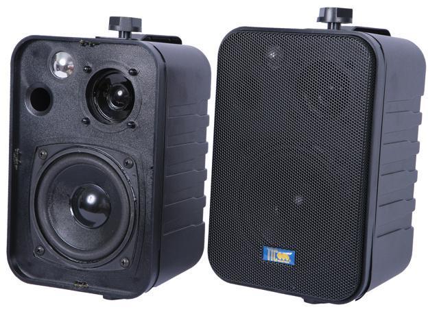 TIC ASP25 B 3 Way Outdoor Weather Resistant Patio Speakers (Pair)