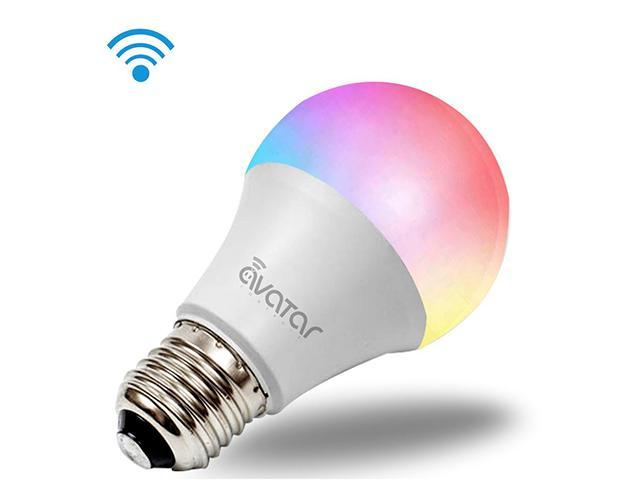 Avatar Controls Smart LED Light Bulb, 10W E26 Dimmable Color Changing Wifi  Bulb Light, Compatible with Alexa / Google Assistant / IFTTT, Remote