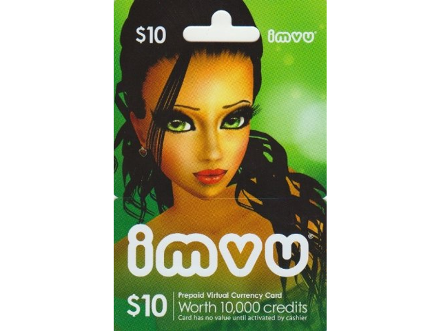 IMVU 10 USD Gift Card - Digial Code - Newegg com