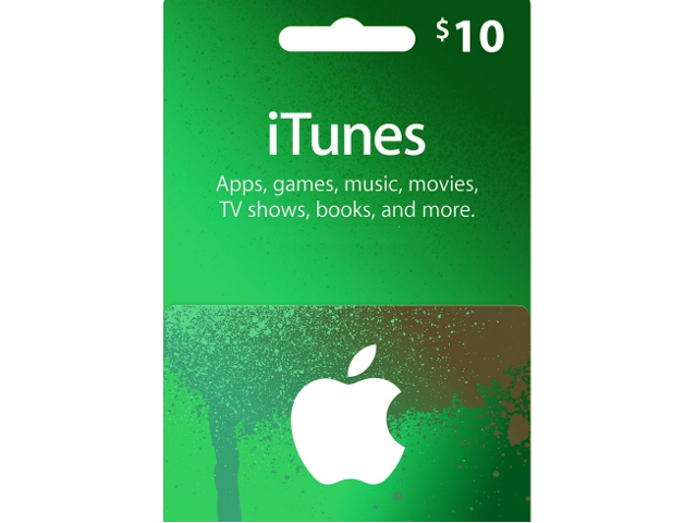 Apple iTunes Gift Card 10 USD - Digital Code - Newegg com