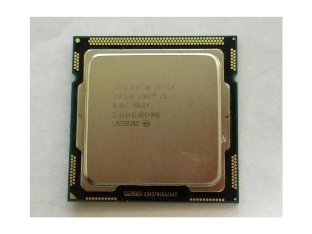 Refurbished Genuine Intel Quad CPU Processor SLBLC Core I5 750 266