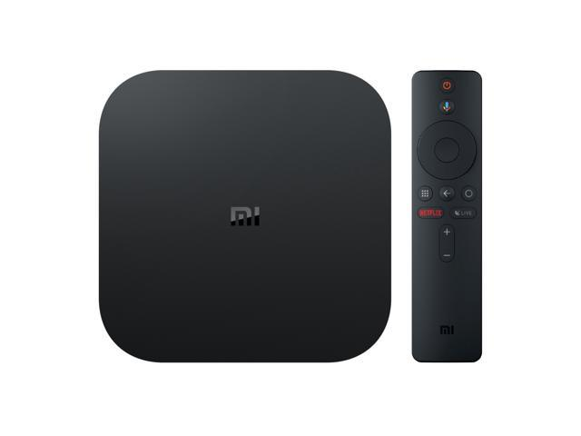 Xiaomi Mi Box S 4K HDR Android TV with Google Assistant Remote Streaming  Media Player - Newegg com
