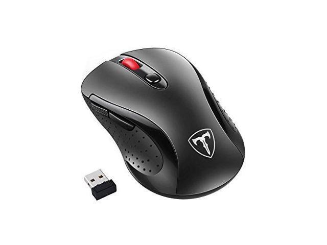 5774eb8a50c Habor Wireless Mouse, 2.4G Cordless Mouses Portable Optical Computer Mice  with USB 3.0 Nano