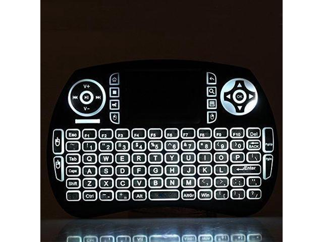 iPazzPort Backlit Wireless Mini Keyboard Usb with Touchpad for Raspberry Pi  3 KP-810-21SL - Newegg com