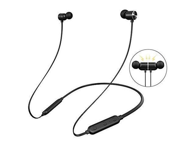 ea680d8c173 Bluetooth Headphones Neckband, Dostyle Wireless 4.2 Magnetic Earbuds Sports  Sweatproof In-ear Earphones Noise Cancelling Headset with mic for iPhone X 8  7 ...