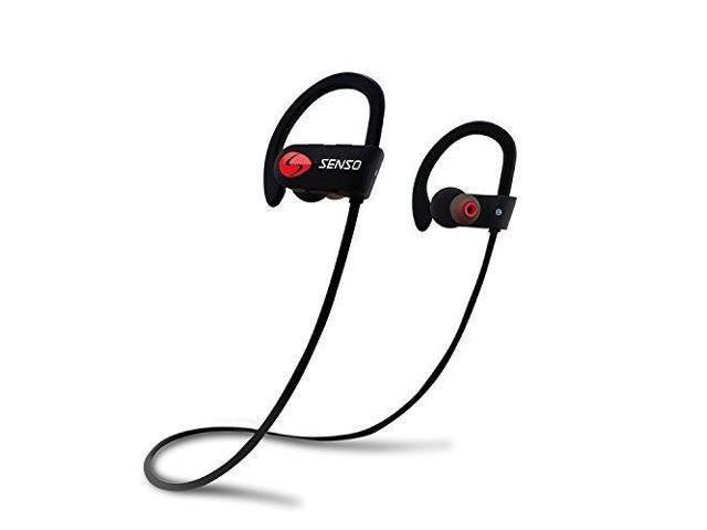 73a7a20e1e0 SENSO Bluetooth Headphones, Best Wireless Sports Earphones w/ Mic IPX7  Waterproof HD Stereo Sweatproof
