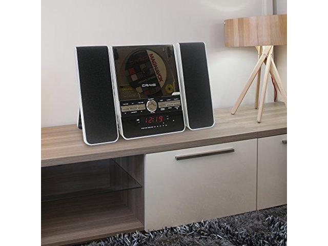 Craig Vertical Cd Shelf System With Am Fm Stereo Radio And