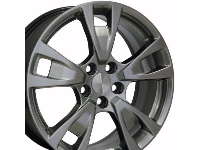 Acura Tl Wheels >> Oe Wheels 19 Inch Fits Acura Tl Rl Tl Style Ac06 Painted Silver