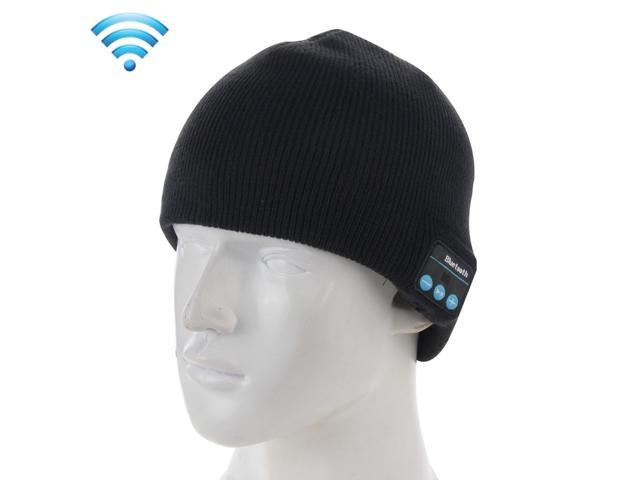 Knitted Bluetooth Headset Warm Winter Hat with Mic for Boy   Girl   Adults c3138104a85