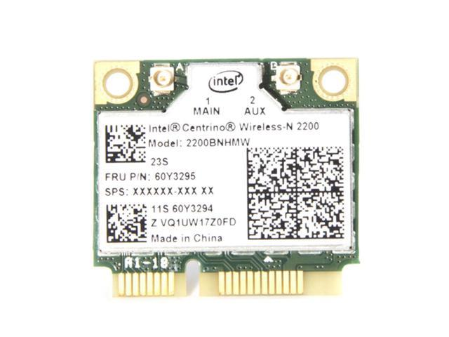 Intel 2200 2200BNHMW 150Mbps 2 4G Mini PCI Express WiFi Card 60Y3295 For  Lenovo - Newegg com