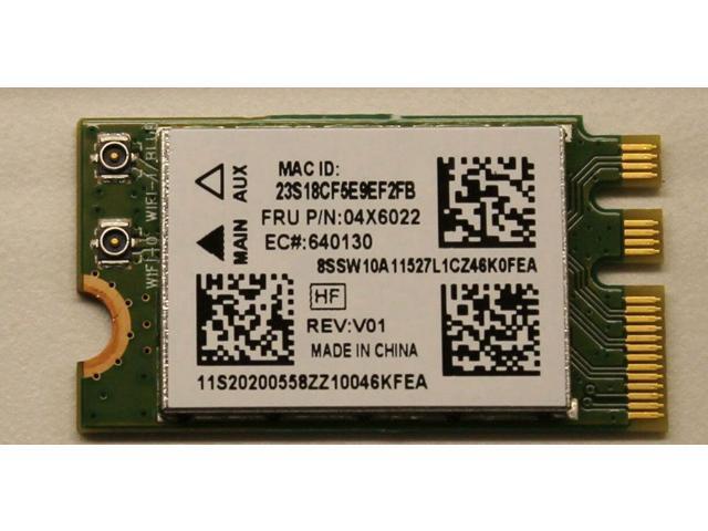 Qualcomm Atheros QCNFA335 Wifi Wireless bluetooth Card FRU P/N