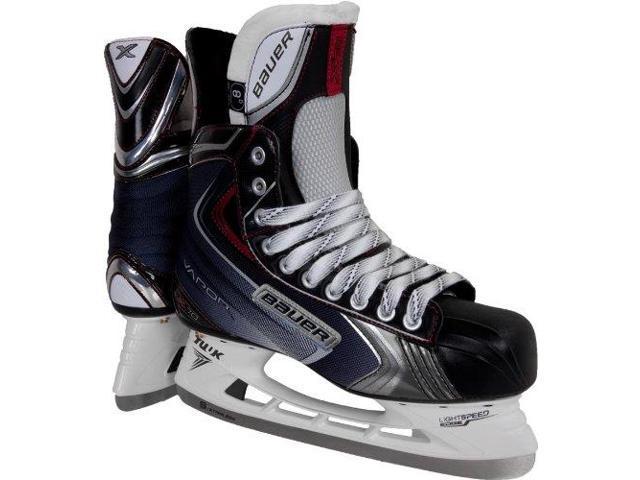 New Bauer Vapor X70 1041207 3.0 EE Junior Black/Red Ice Hockey Skate
