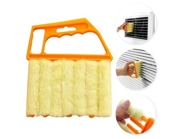 Microfibre Venetian Blind Window Clean Brush Air Conditioner Duster Cleaner