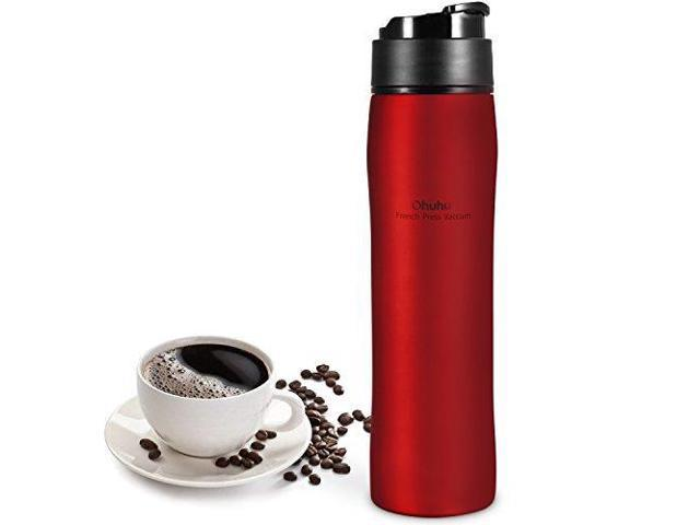 Ohuhu French Press Coffee Maker For Ground Coffee Portable Coffee