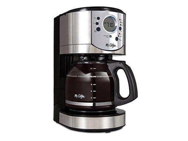 Mr Coffee 12 Cup Programmable Coffee Maker With Brew Strength