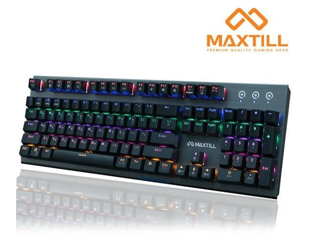 41822312a96 MAXTILL Tron G610K KOREAN Mechanical Gaming Keyboard [OTEMU Mechenical  Switch] [LED Backlit]