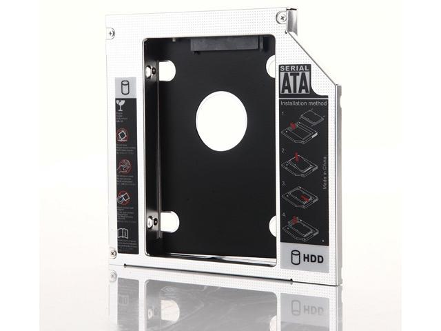 12.7mm 2nd HDD SSD Hard Drive Caddy for Toshiba Satellite C655 C655D C660 C660D