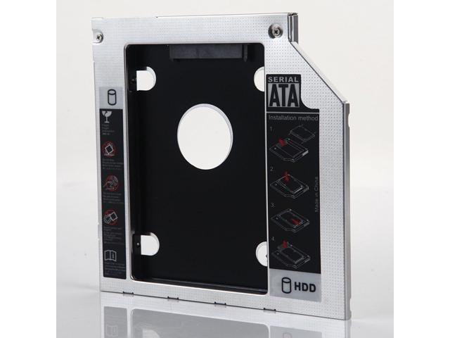 SATA 2nd HDD SSD Hard Drive Tray Caddy for Lenovo IdeaPad Z50-70 B50-30 B50-70
