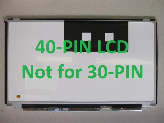 LCD Panel! Compatible With LTN156AT35-P01 LCD Screen Glossy/Matte 15 6  1366X768 SLim HD - Newegg com