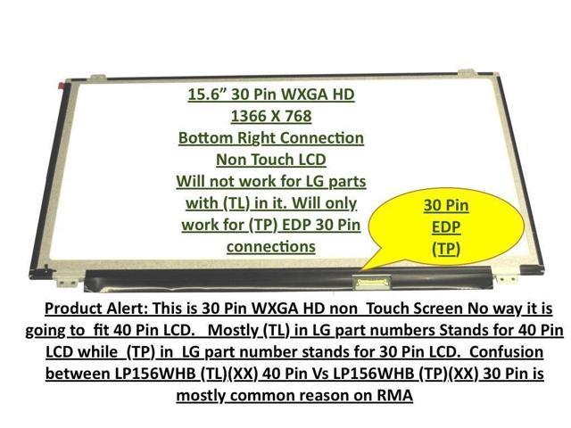 "HP PAVILION 15-AC135DS LAPTOP LED LCD Screen 15-AC137NR 15-AC142DS 15.6/"" WXGA HD"