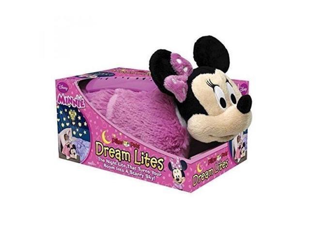 Disney Pillow Pets Dream Lites Minnie Mouse Stuffed Animal Plush