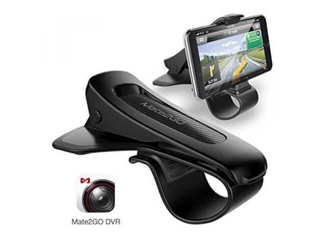 Car Phone Holder, Mate2GO Car Mount HUD Design with Free App to Upgrade  Phone Becames Dash Cam, Durable Dashboard Cell Phone Holder for iPhoneX/8/8