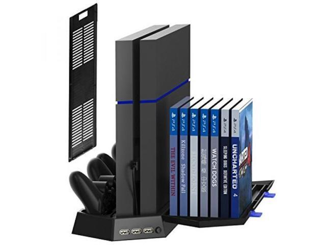 Alv Kootek Vertical Stand For Ps4 Slim Regular