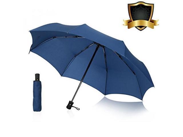 6d354c591d1d ALMM AIKELIDA Travel Umbrella, Windproof Mini Small Compact 8 Ribs  Automatic Sun & Rain Umbrella - Fits Men & Women, Gift Choice - Blue -  Newegg.com