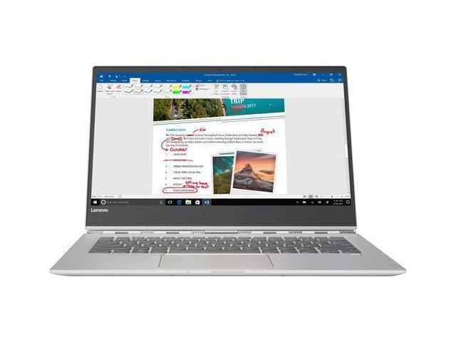 "Lenovo Yoga 920 80Y70012US Intel Core i7 8th Gen 8550U (1.80 GHz) 8 GB Memory 256 GB PCIe SSD Intel UHD Graphics 620 13.9"" Touchscreen 1920 x 1080 Convertible 2-in-1 Laptop Windows 10 Home 64-Bit"