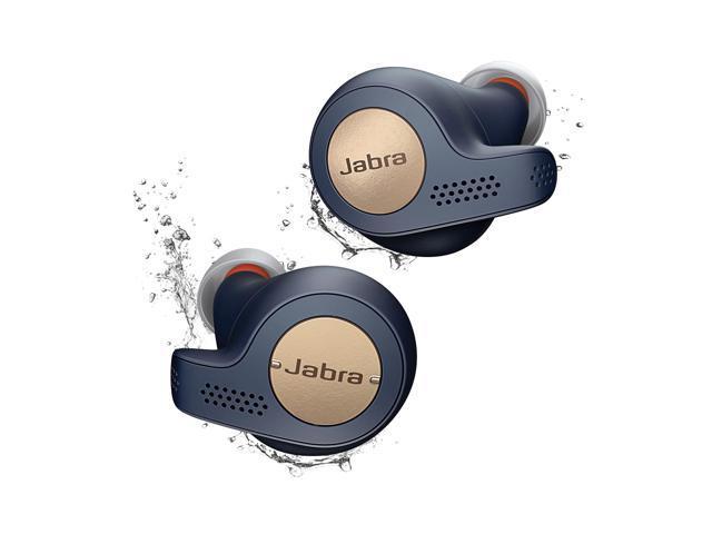Jabra Elite Active 65t Copper Blue True Wireless Sport Earbuds Copper Blue Newegg Com