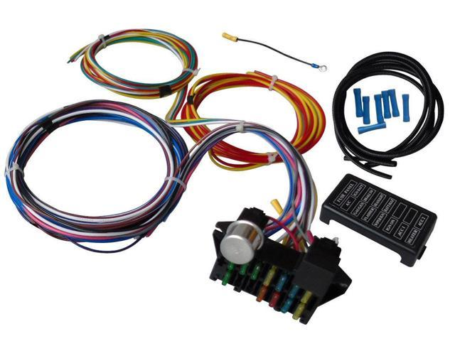 12 circuit universal wire harness muscle car hot rod street rod new universal wiring harness diagram 12 circuit universal wire harness muscle car hot rod street rod new xl wires swpp