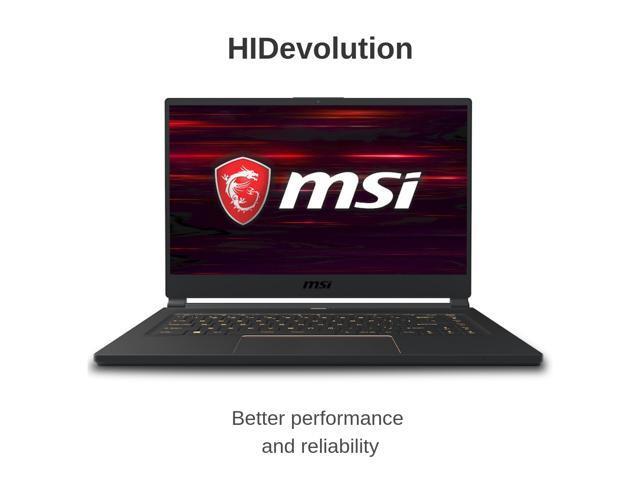 HIDevolution MSI GS65 9SE Stealth 15 6