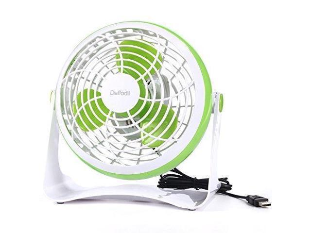 USB Fan,Daffodil UFN140G Mini Table Desk Personal Quite Fan ABS Cooling Fan  for Office Home School and Camping, High Compatibility, Power Saving with