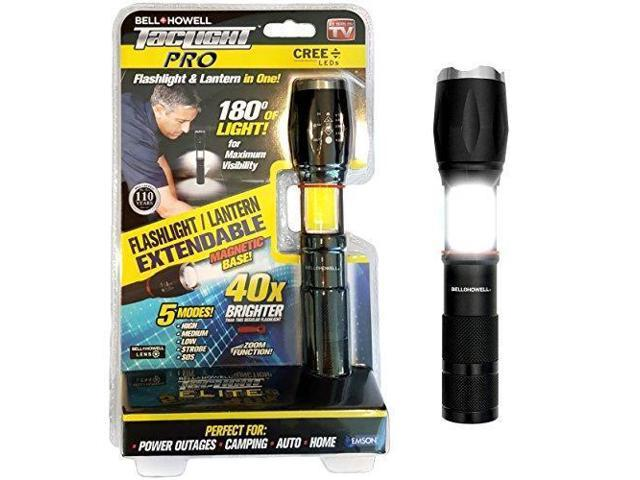 Bell + Howell TACLIGHT Pro Lantern+Flashlight in-1 with Zoom, Magnetic Base  As Seen On TV - 40x Brighter - Newegg ca