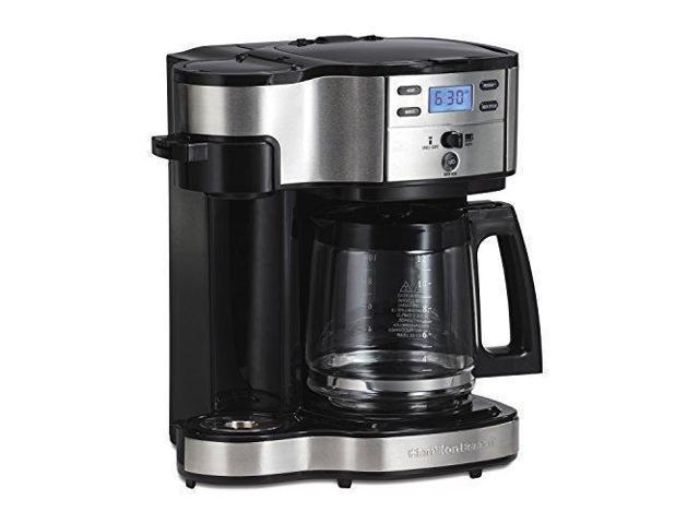 Hamilton Beach Single Serve Coffee Brewer And Full Pot Coffee