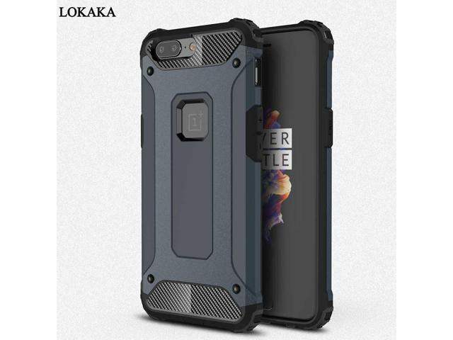 cc3d1aa1296 LOKAKA Case For Oneplus 5t Back Cover Oneplus5t Full Protect Phone Bag Cases  One plus 5t Luxury 2in1 Armor For Oneplus 5 Coque