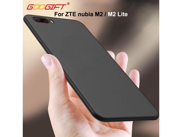 competitive price 47e73 3b1b5 GodGift For ZTE nubia M2 Case Luxury Matte ZTE nubia M2 Lite Silicone Soft  Cover For ZTE nubia M 2 Lite Phone Case Back Cover - Newegg.com