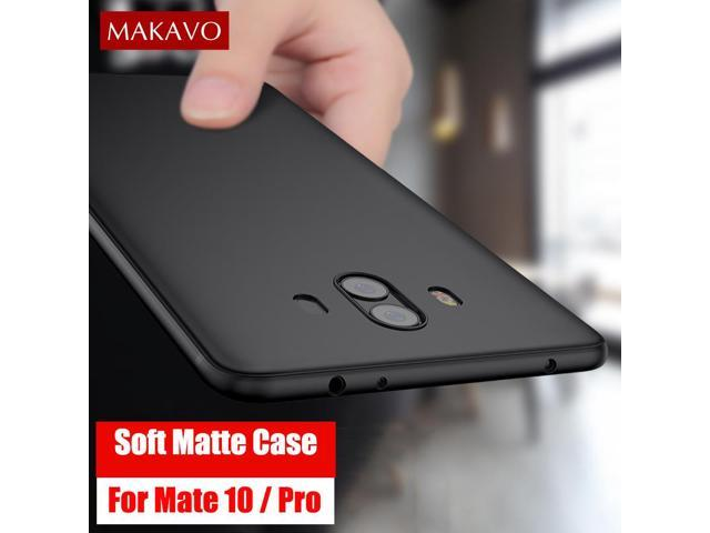 new concept d465a 1402b MAKAVO Cover For Huawei Mate 10 Pro Case 360 Protection Soft Silicone Matte  Phone Cases For Huawei Mate 10 Mate10 Cases - Newegg.com