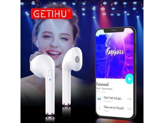 7ca6945df96 GETIHU Bluetooth Earphone Headphones Phone Sport Headset in Ear Buds Wireless  Mini Earphones Earpiece For iPhone