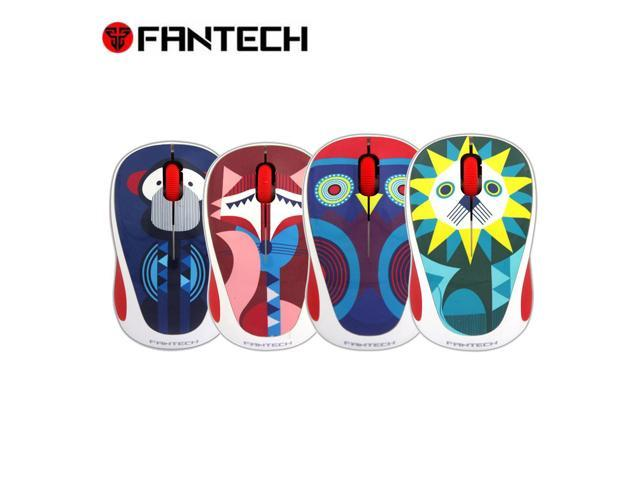 b7e1ddccc33 FANTECH W235Z Realiable Portable Wireless Mouse Cute Mini 2.4 GHz Wireless  Optical Mouse Mice for PC