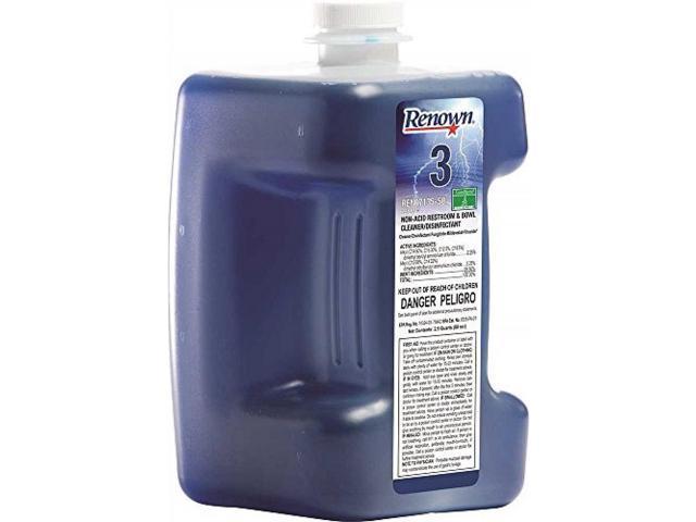 RENOWN® SUREBLEND NON-ACID RESTROOM & BOWL CLEANER AND DISINFECTANT, 80 OZ.