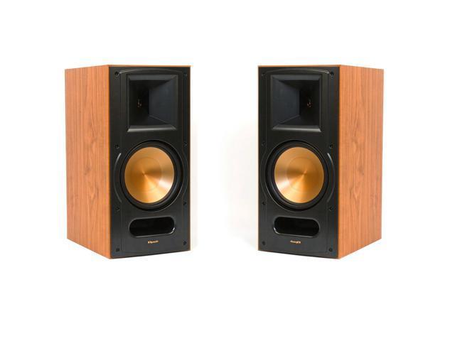 klipsch rb 81 reference ii bookshelf speakers cherry pair. Black Bedroom Furniture Sets. Home Design Ideas