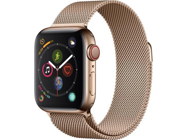 Apple Watch Series 4 Gps Cellular 40mm Gold Stainless Steel
