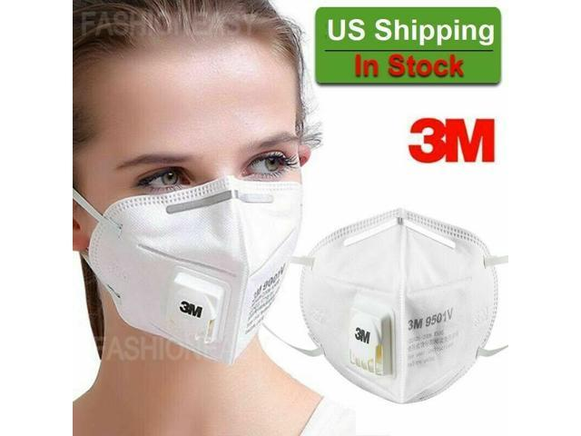 Vented Safety Face Mask Pm2.5 Filter Masks Non-woven Anti-dust Safety Protective Mouth