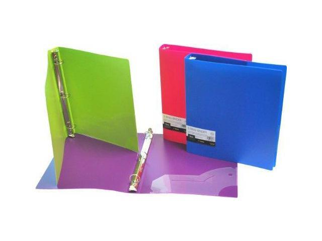 filexec 3 ring binder 1 inch capacity opaque letter size pack of
